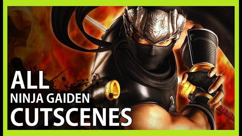 Ninja Gaiden Black All Cutscenes Game Movie HD