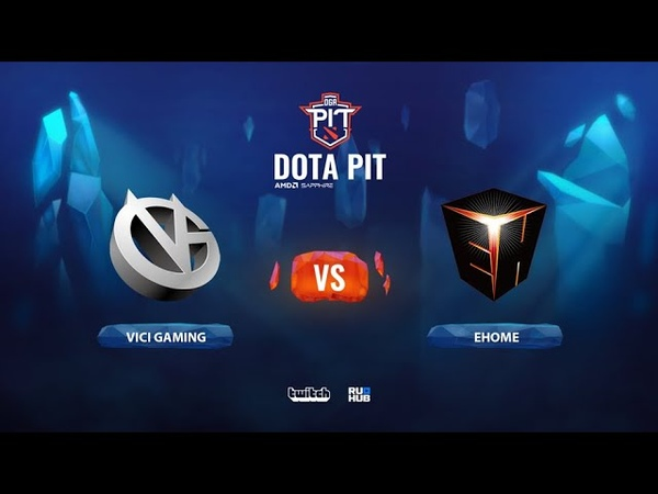 Vici Gaming vs EHOME OGA Dota PIT Season 2 China bo3 game 2 Mortalles Lost