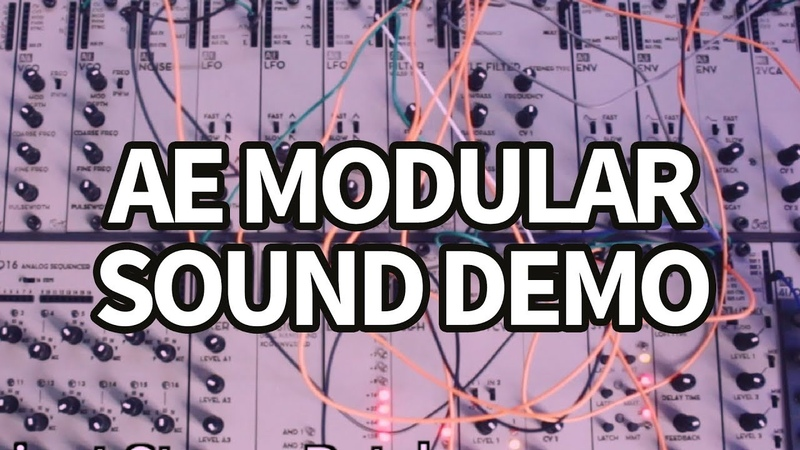 AE Modular Synth Sound Demo 1 (no talking) TTNM