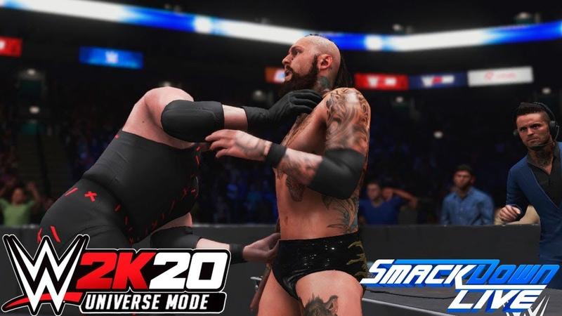 WWE 2K20 Universe SmackDown LIVE На Русском 56