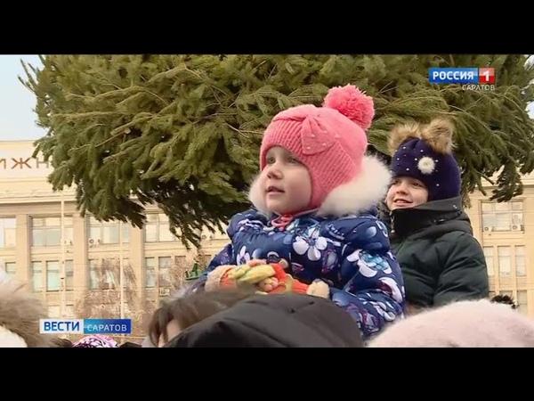 О чем спрашивали главного Деда Мороза страны саратовские дети?