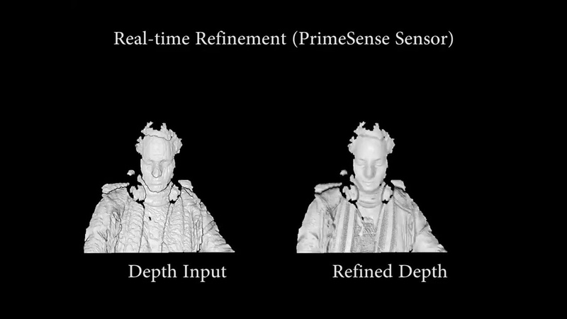 Real-time Shading-based Refinement for Consumer Depth Cameras - SIGGRAPh Asia 2014