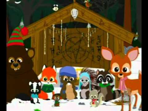 South Park 8x14 Woodland Critter Christmas santas attack