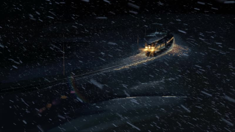 Заснеженный поезд / Snow train