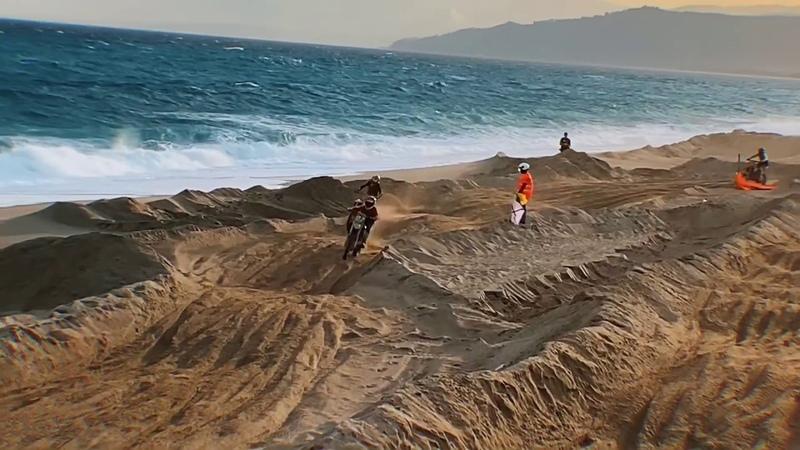 RAW: Beach Race in Catanzaro, Italy