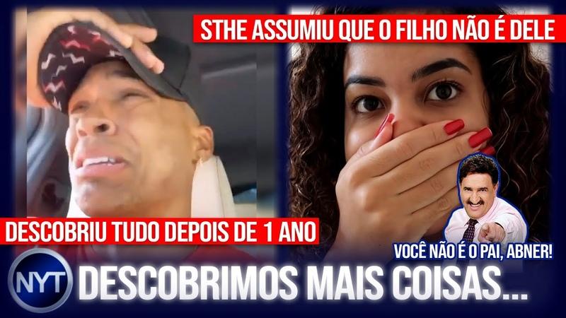 @Abner Pinheiro descobre que NÃO é pai do Apolo @Sthefane Matos se pronuncia e gera climão ENTENDA