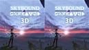 3D VR video Skybound 3D SBS VR box google cardboard