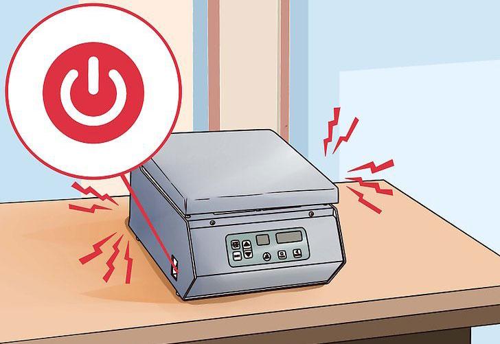 Многие центрифуги автоматически отключатся
