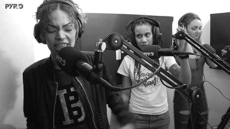 Lady Shocker, Nehanda, NyNy, Chey, Frankie Staywoke, DJ Kaylee Kay - The Female Allstars - PyroRadio