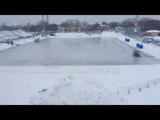 Родина-2 Киров : Водник-2 Архангельск второй тайм (повторный матч)