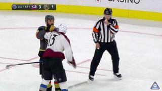 Derek Engelland Tries To Spark His Team By Picking A Fight With Valeri Nichushkin