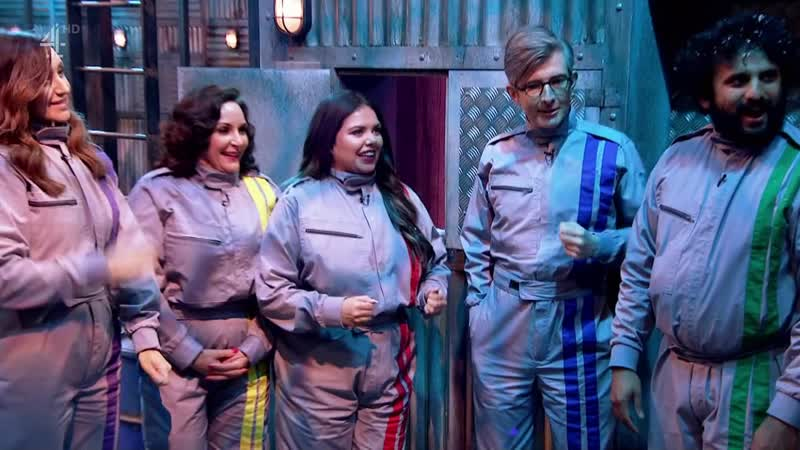 The Crystal Maze Celebrity Christmas Special 2019 Shirley Ballas Nish Kumar Gareth Malone Scarlett Moffatt Cath Tyldesley