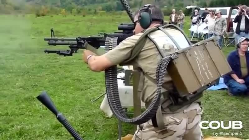 Machine-gunner / Пулемётчик