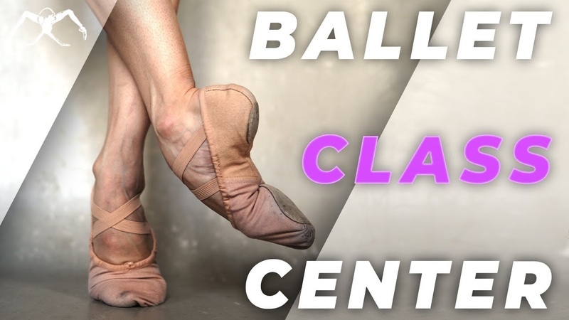 Ballet Class at home in 2020 center with Maria Khoreva Bloch