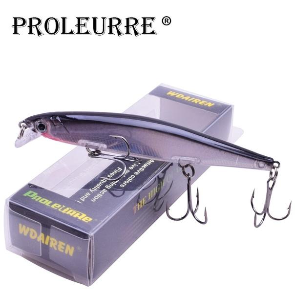 Proleurre 1 шт. блесна для рыбалки лазерная твердая искусственная наживка 3D глаза 11 см 14 г