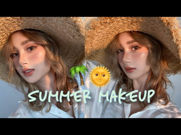 夏メイク 日焼けサマーメイク Summer Makeup Sunkissed