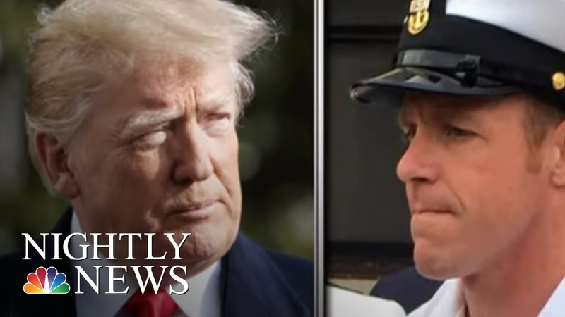 Trump Defends Embattled Navy SEAL Against Attempts To Downgrade His Status NBC Nightly News