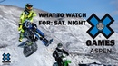 X GAMES ASPEN 2020 What To Watch For Night 3 X Games
