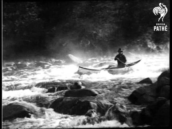 Voyageur - Adventure On The Mississagi, Ontario (1933)