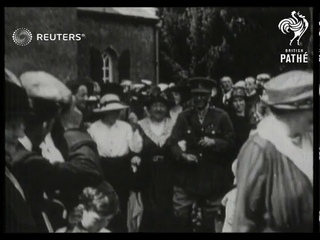 SPORTS : AN IRISH WEDDING MARRIAGE OF MAJOR  DERMOT H. MCCALMONT AND LADY BARBARA HELEN CO...(1918)