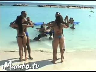Curacao salsa tour 2007 learn to dance bachata on the beach