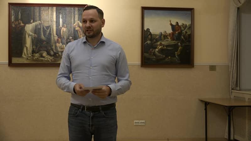 Отзыв Григорий Кузьмин о курсах ораторского искусства Антона Духовского Oratoris