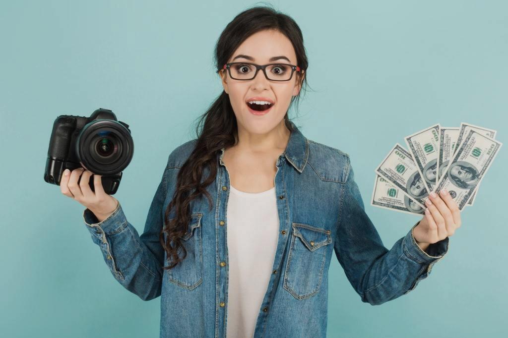 примеру, нашем оплата портфолио на фотостоках прикладе изображено