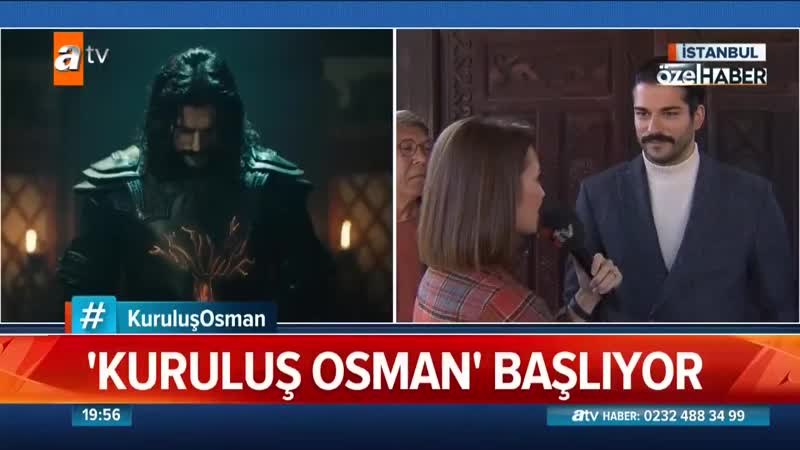 Atv Haber Kuruluş Osman setinde!