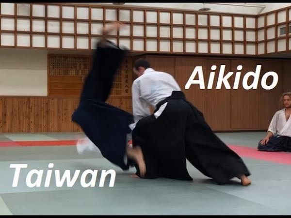 Working on Ushiro Ryote dori Taiwan International Aikido Seminar