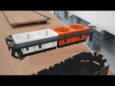 Открываемые кабельные каналы ОБО Беттерманн серии OKB со щеточной планкой