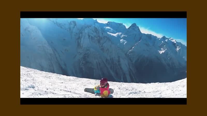 Мы любим лыжи и сноуборд! А ты?