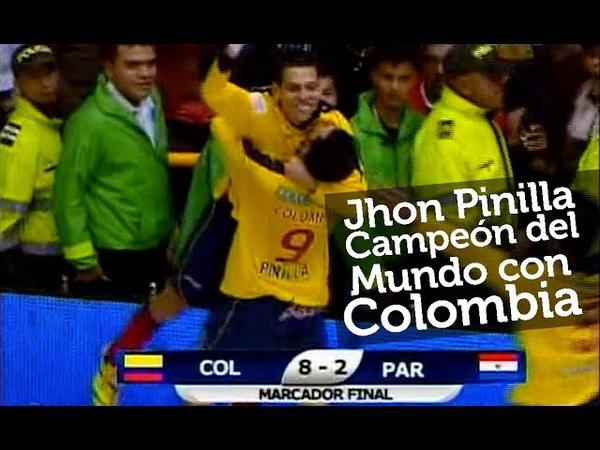 Colombia 8 vs Paraguay 2 Final del Mundial de Microfútbol AMF Futsal 2011 partido completo