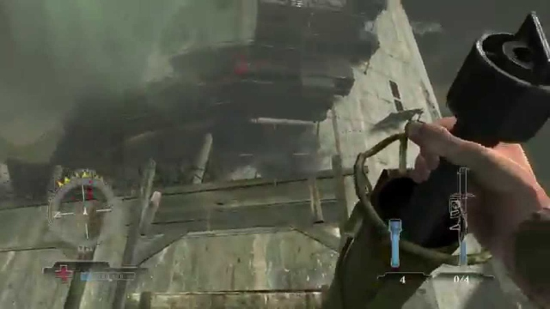 Medal of Honor Airborne: How to Jump off the Flaktower and survive NO CHEATS