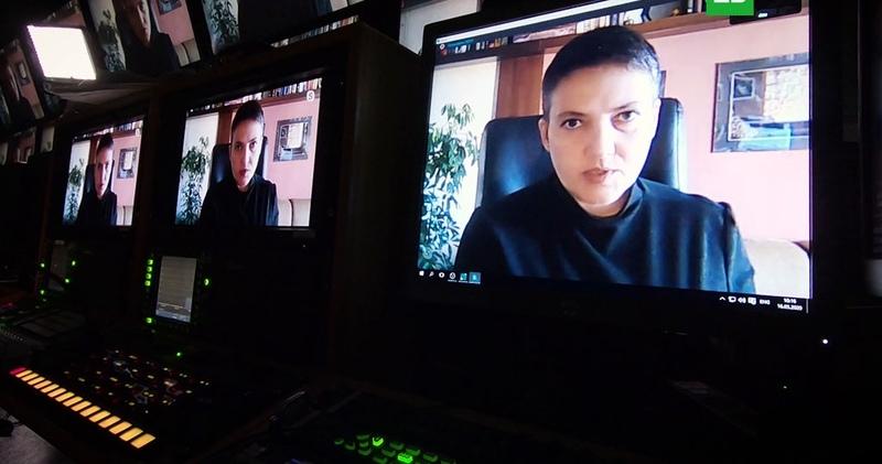 Надежда Савченко: первое большое интервью российскому ТВ
