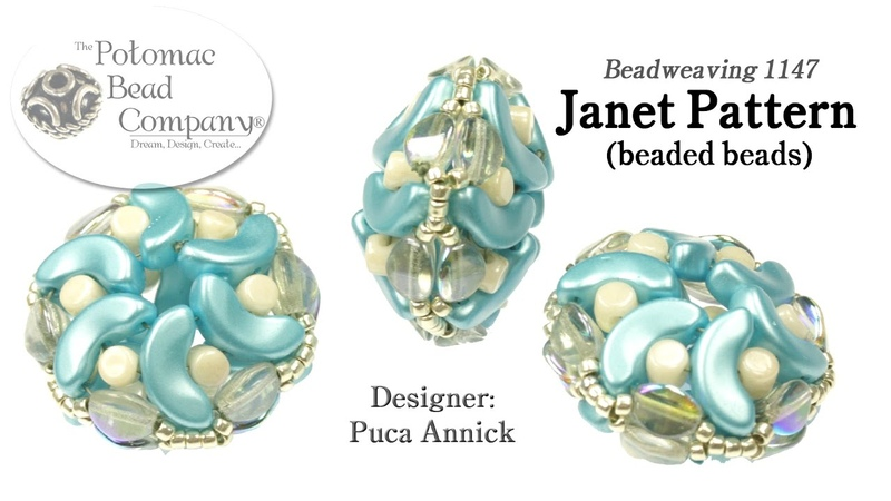 Janet Pattern Puca Beaded Beads