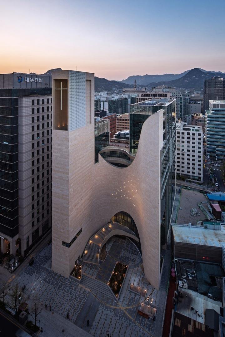 Современная протестантская церковь вЮжной Корее