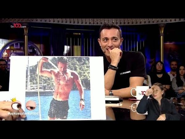 Okan Bayülgen Mustafa Sandal'ın kaslarını kıskanırsa