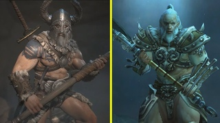 Diablo 4 vs Diablo 3   Returning Characters Early Comparison