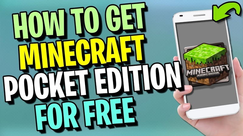 Minecraft Pocket Edition Free Download 🔸 How to Get Minecraft PE Free ✅ Android iOS iPhone APK 2020