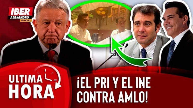 EXCLUSIVA CAPTAMOS A LORENZO CORDOVA PACTANDO CON EL PRI AQUI TE REVELO QUE PLANEAN VS AMLO
