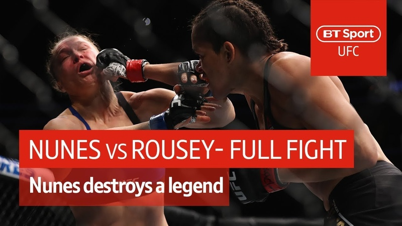 Amanda Nunes vs Ronda Rousey (UFC 207)   Full Fight