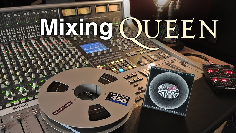 Mixing Queen's Don't Stop Me Now on an Analog SSL Console GoPro POV