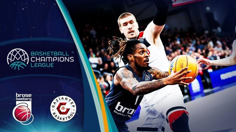 Brose Bamberg v Gaziantep - Highlights - Basketball Champions League 2019-20