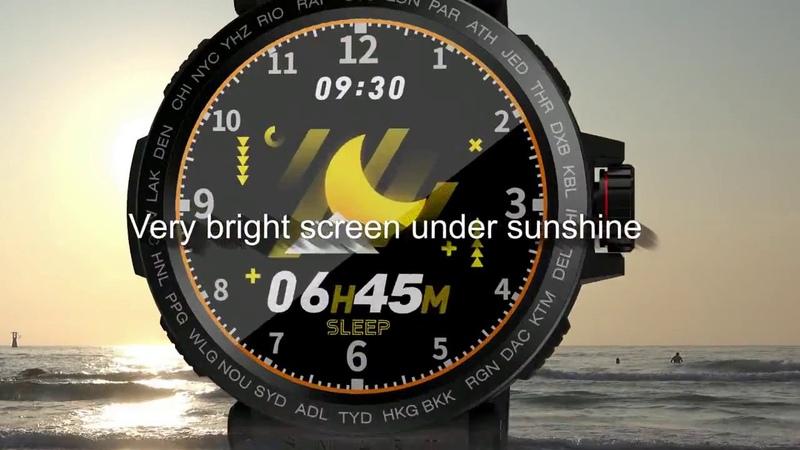 Умные часы SENBONO спортивные IP68 водонепроницаемый смарт часы