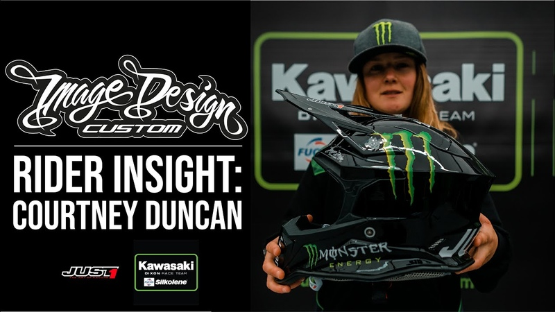 Rider Insight MXGP Courtney Duncan Image Design Custom