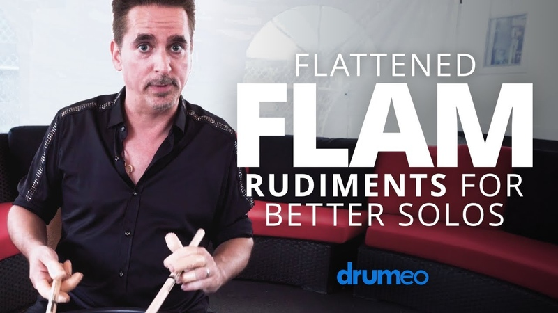 Flattened Flam Rudiments For Better Drum Solos