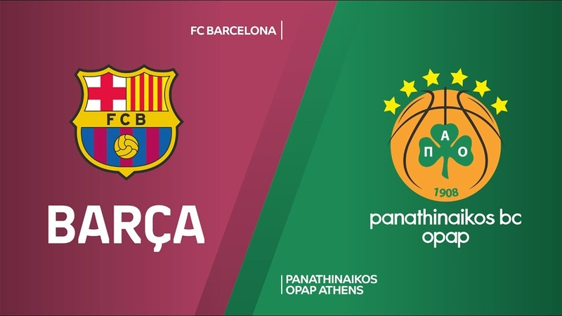 FC Barcelona - Panathinaikos OPAP Athens Highlights | Turkish Airlines EuroLeague, RS Round 13