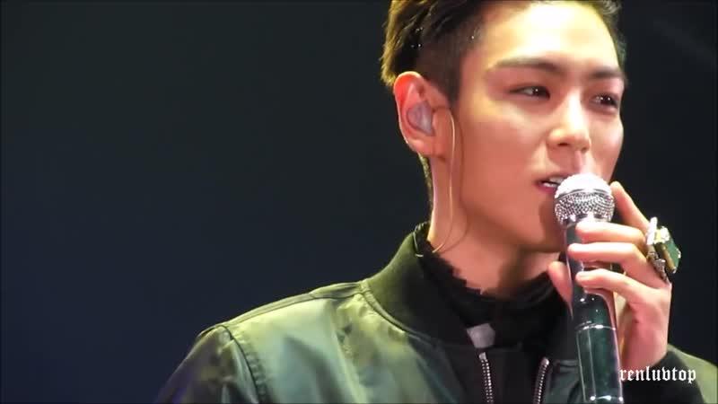 [TOP speech dance]160306 BIGBANG MADE in SEOUL MC