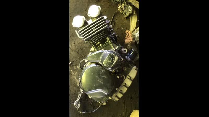 Проверка контрактного двигателя Yamaha FZ400 (4YR) перед отправкой клиенту | motod.ru