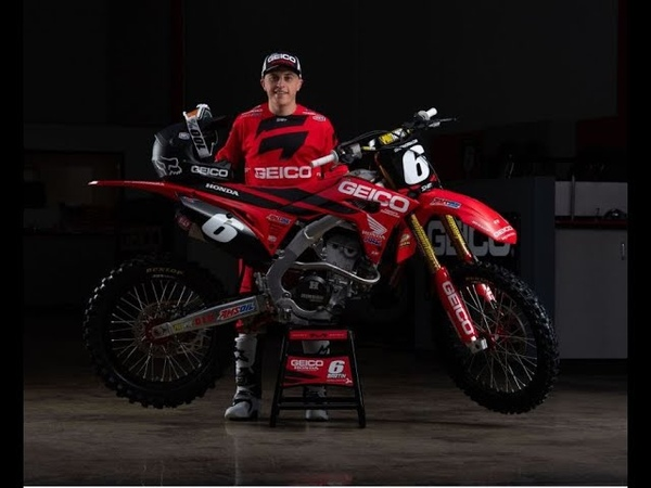 Jeremy Martin Sidelined for 2019, Signs Extension with GEICO Honda